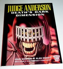 JUDGE ANDERSON DEATH'S DARK DIMENSION    TPB  2000 AD - JOHN WAGNER