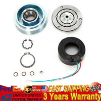 A//C Compressor Clutch Kit Pulley Bearing Coil Plate For Subaru 4 CYL 2.5L 07-09