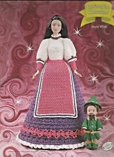 Snow White FAIRY TALE Collection Annie's Barbie Fashion Doll Crochet Pattern