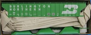 HO Scale - ACCURAIL 6502.1 BURLINGTON NORTHERN PS 3-Bay Hopper Car # 459648  KIT