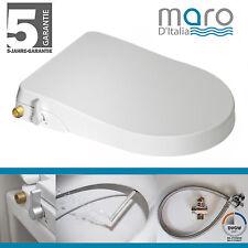 Maro D'Italia  FP104 (längliche Form)  Original Dusch-WC Aufsatz / Stromlos