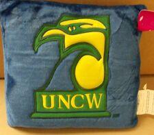 UNC Wilmington Seahawks Pillow 10 Inch Square Plush Pillow Free Ship Set Of 6