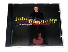 CD: John McLaughlin Trio - Que Alegria (1992, Verve) 1 Nite Stand Hijacked Marie