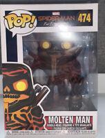 Funko Pop! Marvel: Spiderman Far From Home - Molten Man #474