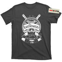 2nd Second Amendment Right to Bear Arms Live Free or Die Hard merica tee t shirt