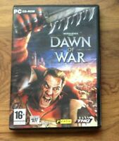 Warhammer 40000 DAWN OF WAR PC Rom. 3 Disc War Strategy Game.Free UK Postage