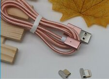 Micro fiber Magnetic-USB, Portable USB charger cable for I Phone or tablet
