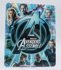 AVENGERS ASSEMBLE - Glossy Bluray Steelbook Magnet Cover (NOT LENTICULAR)