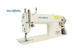 NEW GLOBAL Full Industrial Sewing machine,+ Industrial Stand and Motor
