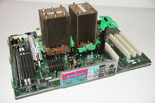 Dell 670 Precision Motherboard with Dual Xeon 3.4 GHz CPU's, Heatsinks & 4GB RAM