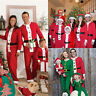 UK Christmas Family Matching Pyjamas PJS Set Xmas Santa Sleepwear Nightwear Gift