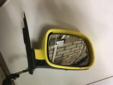 VW Lupo Seat Arosa stubby 125mm driver right Door mirror Yellow Used manual rare