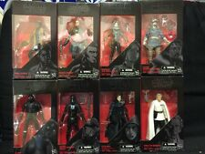 """LOT OF 8 STAR WARS BLACK SERIES 6"""" ACTION FIGURES FREE SHIP NEW 01,19,22-27"""
