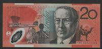 MacFarlane / Henry 2002 : First prefix AA02 Twenty Dollar Polymer Banknote. Unc.