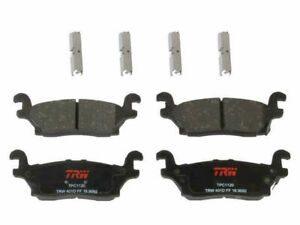 Rear TRW Premium Ceramic Brake Pad Set fits Hummer H3 2006-2010 87JVFK