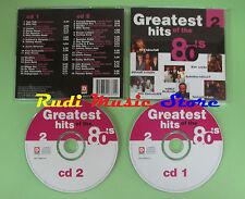 CD GREATEST OF 80'S 2 compilation 2000 TALK TALK BILLY IDOL SAMANTHA FOX (C21)
