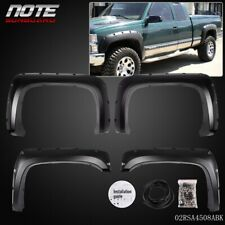 PP Rivet Fender Flares Pocket Style For 07-14 Chevy Silverado 1500 2500HD/3500HD