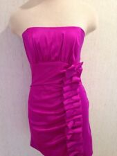 JESSICA McCLINTOCK for GUNNE SAX Short Formal Strapless DRESS Jr Size 5 EUC