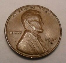 1946 S Lincoln Wheat Cent / Penny Coin  *FINE OR BETTER*  **FREE SHIPPING**