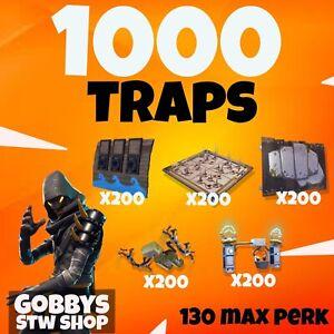 FORTNITE Save The World,1000 GODROLL traps,GAS,BROADSIDE,LAUNCHER,DYNAMO,SPIKES