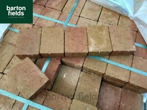 Contemporary Cobble Paving Setts in Sunset, 105x140x50mm, Ideal Edging Blocks