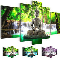 Unframed Large Modern Buddha Print Art Canvas Wall Home Picture Painting Decor