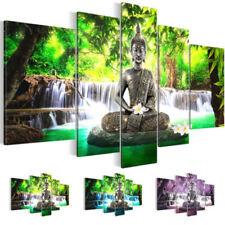 Sin marco moderno Buda impresión arte lienzo pared casa grande cuadro pintura De