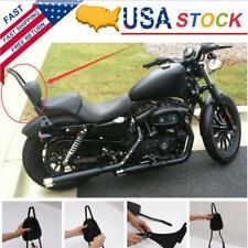 Passenger Backrest Sissy Bar Cushion Seat Pad For Harley Sportster XL883 1200