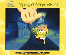 """ Balloon Too"" ! Spongebob Production Cel #8017 ""Rock Bottom"""
