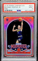 Michael Porter Jr 2018-19 Panini Chronicles Pink Marquee Rookie RC PSA 9 POP 1
