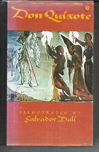 Don Quixote de la Mancha by M Cervantes illustrated by Salvador Dali 1979 vgc