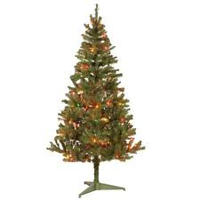 6-foot Canadian Fir Grande Wrapped Tree with 200 Multicolor Lights CFG7-303-60