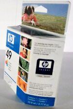 NEW Genuine HP 49 Tri-Color 51649A Ink Cartridge For Deskjet Deskwriter