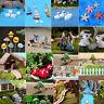 Mini Dollhouse Fairy Garden plant Landscape Terrarium Figurine Bonsai DIY Decor