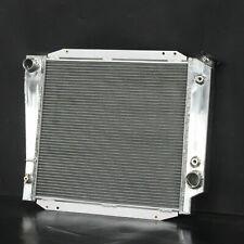 Aluminum Radiator For Ford Bronco Custom Northland Ranger V8 1966-1977 521 3Row