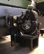 "M998 HUMVEE Hummer M151A1 JEEP ""PINBALL"" 2"" HITCH POWDERCOATED M1026 Slantback"