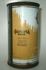 "Old Olympia Flat Top Beer Can ""A Light Table Beer"" Olympia, Washington"