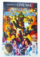 Marvel INVINCIBLE IRON MAN (2009) #11 2nd Print RIRI WILLIAMS App NM Ships FREE!