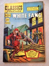 Classics Illustrated #80 White Fang Original Issue.