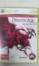 Dragon Age Origins Awakening Xbox 360 PAL Version