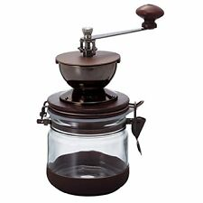 New!! HARIO Canister Ceramic Coffee Mill CMHN-4 Glass Container Canister Japan