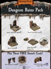 NEW Dwarven Forge Caverns Deep! Dungeon Ruins Pack Add-On D&D Tiles Kickstarter