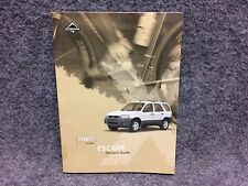 2003 Ford Escape Owners Users Guide Manual Reference Book 3L8J-19A321-EA 31028