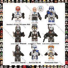 Star Wars Custom Darth Vader Yoda Obi-Wan Han Solo KyloRen Captain Rex