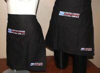 USPS Postal HALF APRON With Postal Logo Embroidered Adjustable W Pockets BLACK