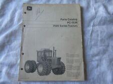 John Deere 7020 tractor parts catalog book manual