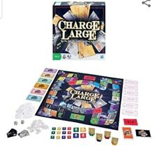 CHARGE LARGE Hasbro Family Board Game, Buy Big, Build Big & Borrow Smart - NEW
