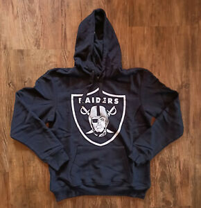 Fanatics NFL Oakland Raiders Kapuzenpullover Hoodie Schwarz Black N3ADB-1450OR