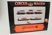 Arnold 0152 Spur N Circus Krone Wagenset Jubiläums Sonderzug in OVP