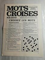 N13 mots croisés magazine N°604 hebdomadaire 31 mars 1976 imprimée en France